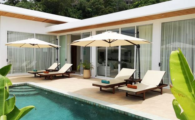 Modern 3+1 Bedroom Pool Villa for Sale in Chaweng