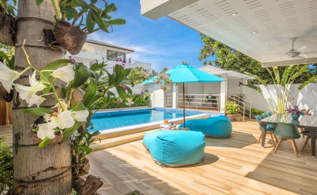 Beautiful 4 Bed Luxury Beachside Pool Villa in Ban Tai