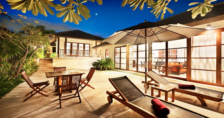 Luxurious 3 Bedroom Beach Villa in Choeng Mon Resort-7