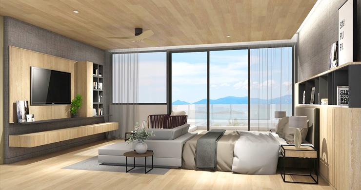 Sleek New 3-4 Bedroom Sea View Villas in Plai Laem-5