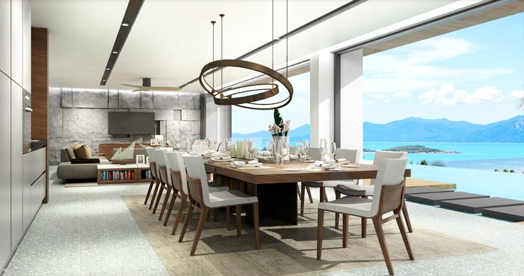 Sleek New 3-4 Bedroom Sea View Villas in Plai Laem-1