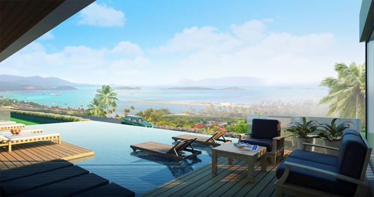 Sleek New 3-4 Bedroom Sea View Villas in Plai Laem-8
