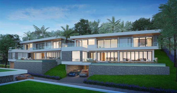 Sleek New 3-4 Bedroom Sea View Villas in Plai Laem-10