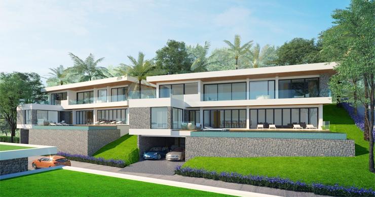 Sleek New 3-4 Bedroom Sea View Villas in Plai Laem-2