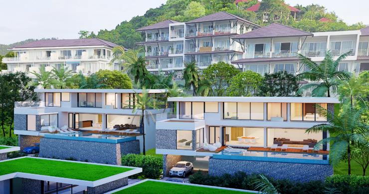 Sleek New 3-4 Bedroom Sea View Villas in Plai Laem-9