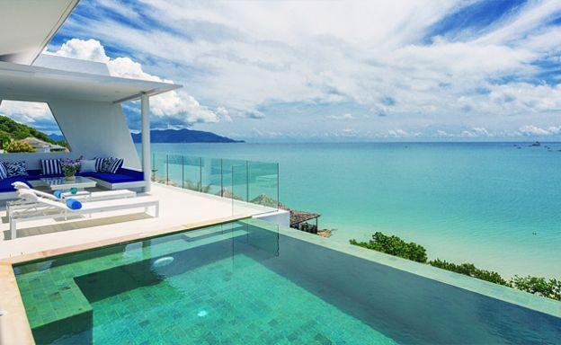 Luxury 4 Bedroom Sea view Villas by Plai Laem Beach