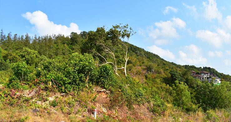 Serene Samui Sea view Land on Choeng Mon Hills-11
