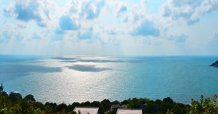 Serene Samui Sea view Land on Choeng Mon Hills-4