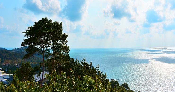 Serene Samui Sea view Land on Choeng Mon Hills-5