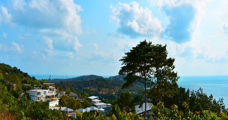 Serene Samui Sea view Land on Choeng Mon Hills-6