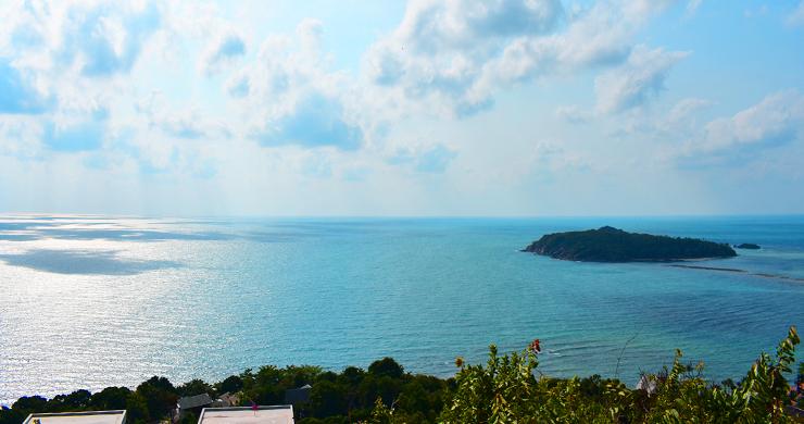 Serene Samui Sea view Land on Choeng Mon Hills-2