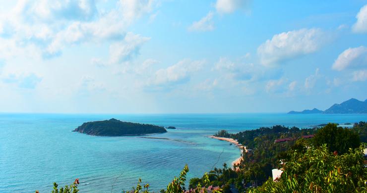 Serene Samui Sea view Land on Choeng Mon Hills-1