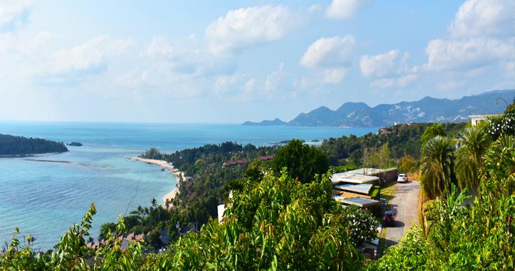 Serene Samui Sea view Land on Choeng Mon Hills-3