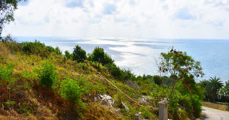 Serene Samui Sea view Land on Choeng Mon Hills-8