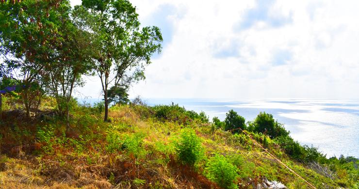 Serene Samui Sea view Land on Choeng Mon Hills-9