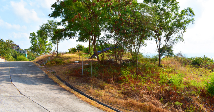 Serene Samui Sea view Land on Choeng Mon Hills-7