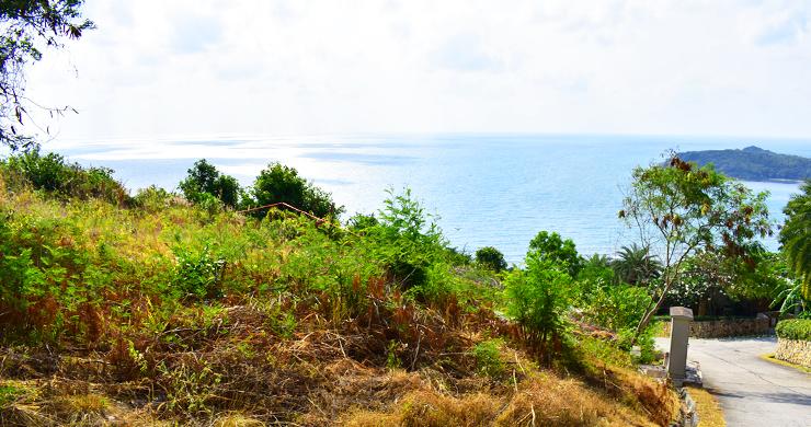 Serene Samui Sea view Land on Choeng Mon Hills-12