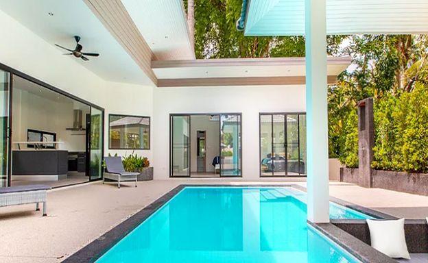 Charming New 4 Bedroom Modern Pool Villa in Lamai