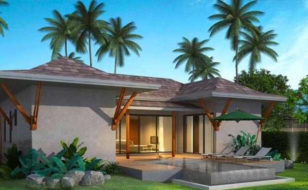 New 3 Bedroom Modern Pool Villas by Lamai Beach
