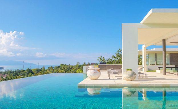 Ultra Modern 5 Bedroom Sea view Villa in Choeng Mon