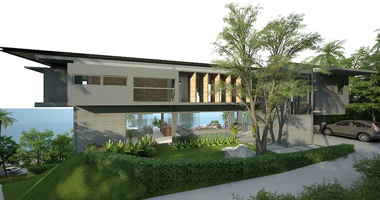 Ultra-Luxury 5 Bedroom Sea view Villa in Chaweng Noi-9