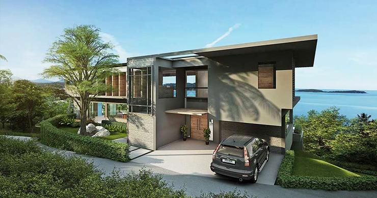 Ultra-Luxury 5 Bedroom Sea view Villa in Chaweng Noi-4