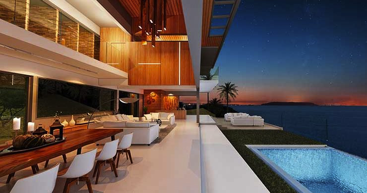 Ultra-Luxury 5 Bedroom Sea view Villa in Chaweng Noi-6