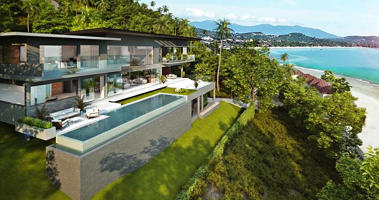 Ultra-Luxury 5 Bedroom Sea view Villa in Chaweng Noi-2