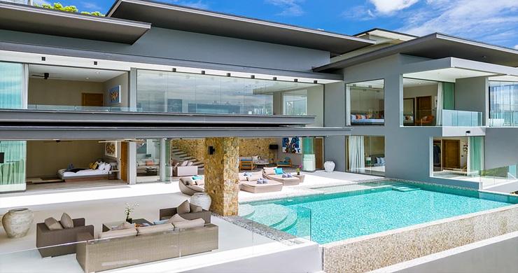 Ultra-Luxury 5 Bedroom Sea view Villa in Chaweng Noi-7