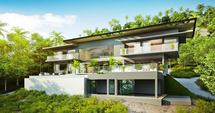 Ultra-Luxury 5 Bedroom Sea view Villa in Chaweng Noi-1