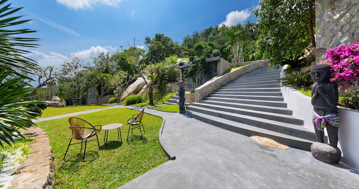 Palatial 5 Bedroom Sea view Villa on Chaweng Noi Peak-20