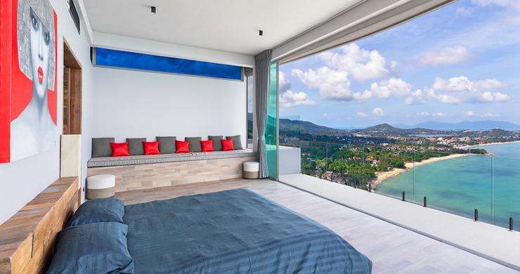 Palatial 5 Bedroom Sea view Villa on Chaweng Noi Peak-13