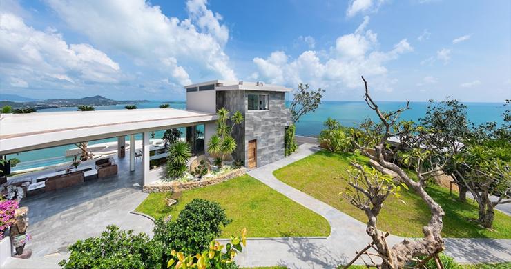 Palatial 5 Bedroom Sea view Villa on Chaweng Noi Peak-19