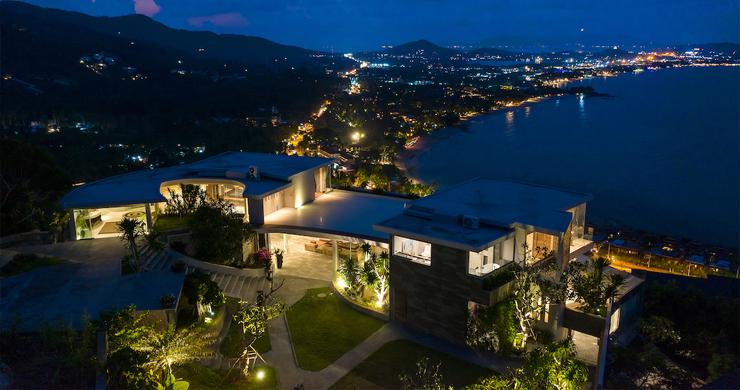 Palatial 5 Bedroom Sea view Villa on Chaweng Noi Peak-27