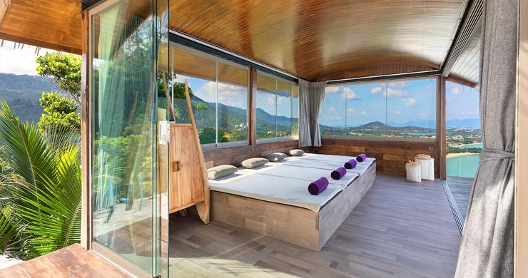 Palatial 5 Bedroom Sea view Villa on Chaweng Noi Peak-15
