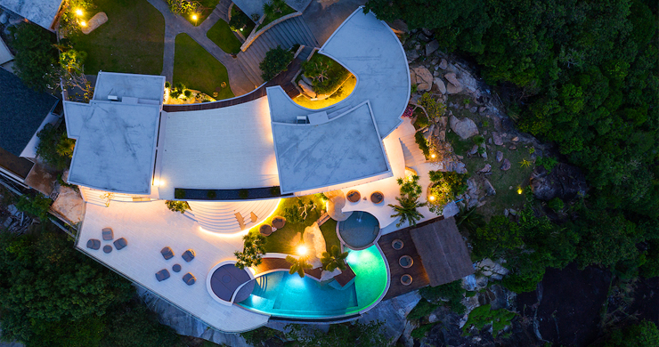 Palatial 5 Bedroom Sea view Villa on Chaweng Noi Peak-24