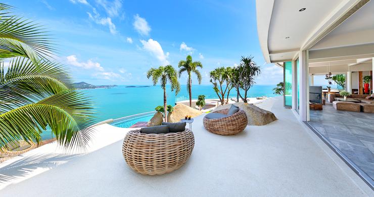 Palatial 5 Bedroom Sea view Villa on Chaweng Noi Peak-8