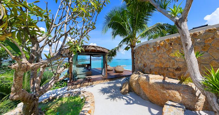 Palatial 5 Bedroom Sea view Villa on Chaweng Noi Peak-18