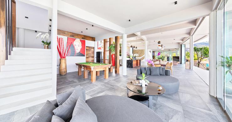 Palatial 5 Bedroom Sea view Villa on Chaweng Noi Peak-11