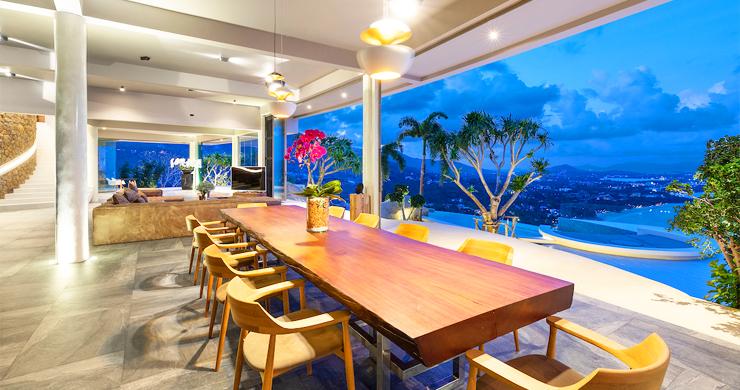 Palatial 5 Bedroom Sea view Villa on Chaweng Noi Peak-22