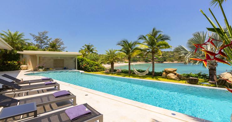 Sumptuous 6 Bed Beachfront Villa on Samrong Bay-16
