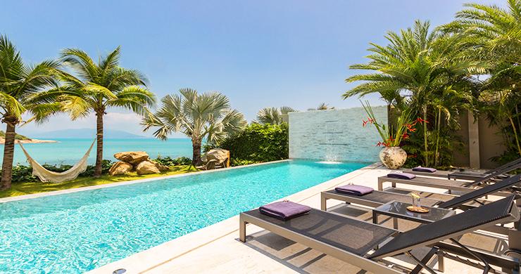 Sumptuous 6 Bed Beachfront Villa on Samrong Bay-1