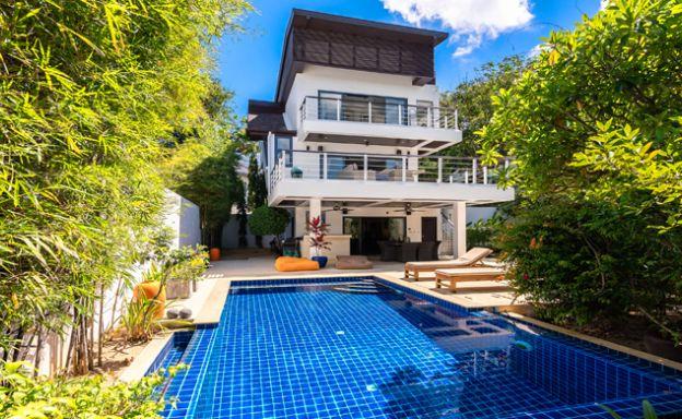 Tropical Sanctuary 3 Bedroom Pool Villa in Plai Laem