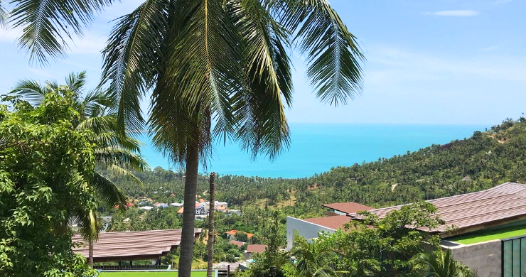Prime Sea View Land for Sale on Chaweng Noi Hills-3