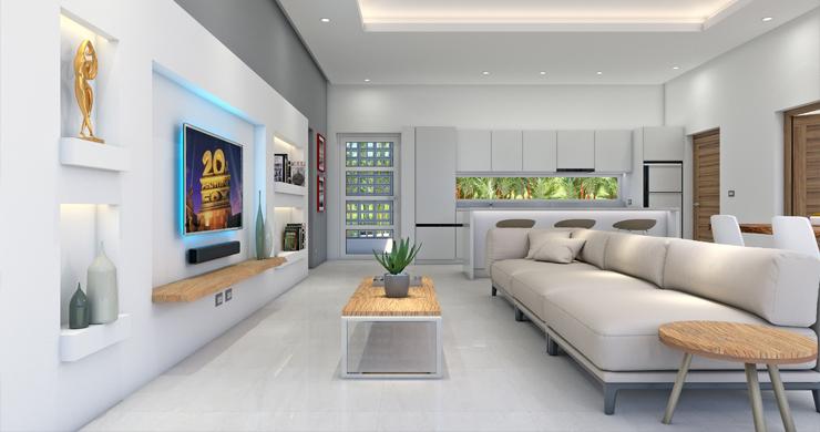 6 Bed Modern Sea view Villa on Beautiful Bophut Hills-3