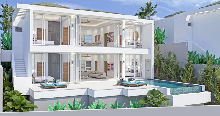6 Bed Modern Sea view Villa on Beautiful Bophut Hills-1