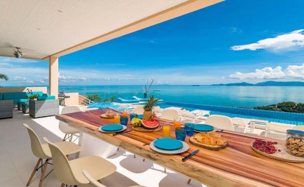 Extraordinary Sea view 5 Bed Villa on Bangpor Hills