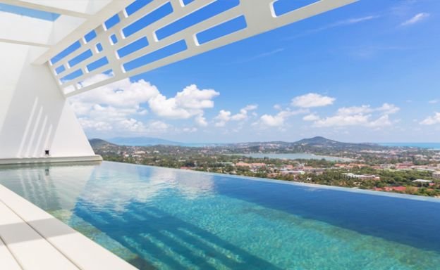 Serene Sea view 3 Bed Luxury Villa on Chaweng Hills