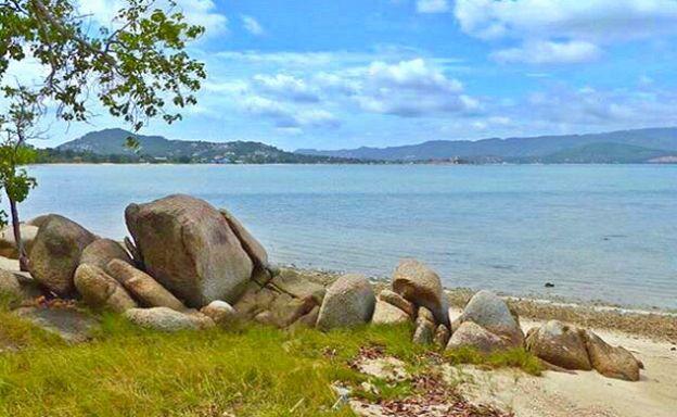 New Sunset Cove Beachfront Land for Sale in Plai Laem