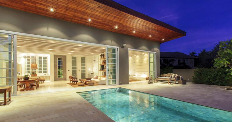 Contemporary Chic 3 Bed Zen Pool Villa in Choeng Mon-17